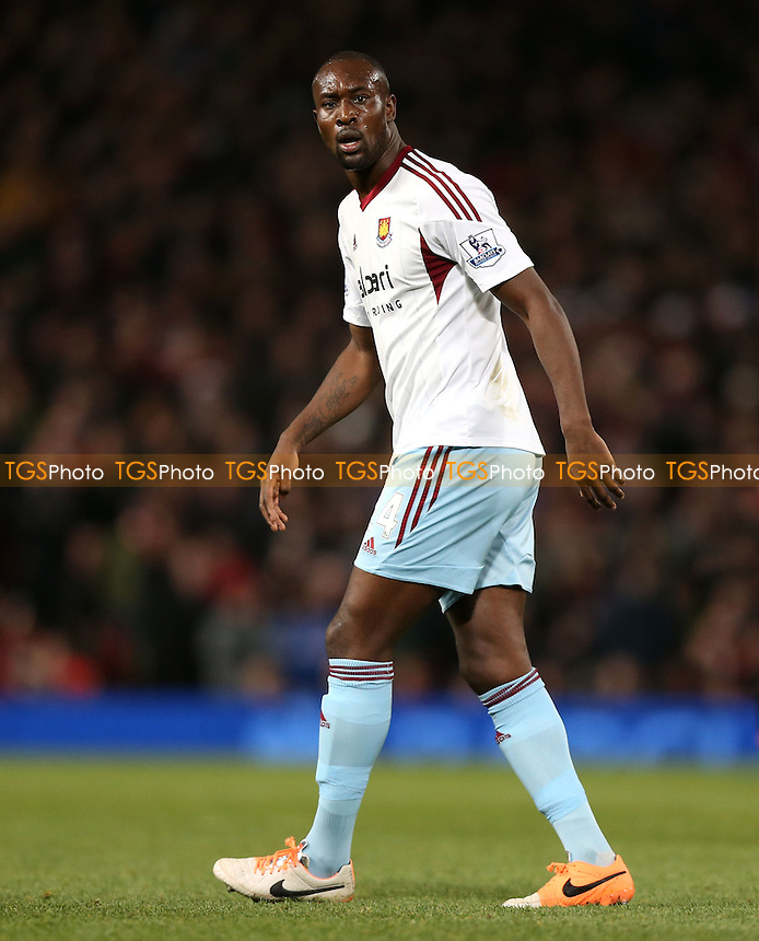 Carlton Cole of West Ham - Manchester United vs West Ham United, Barclays Premier League at Old Trafford, Manchester - 21/12/13 - MANDATORY CREDIT: Rob Newell/TGSPHOTO - Self billing applies where appropriate - 0845 094 6026 - contact@tgsphoto.co.uk - NO UNPAID USE