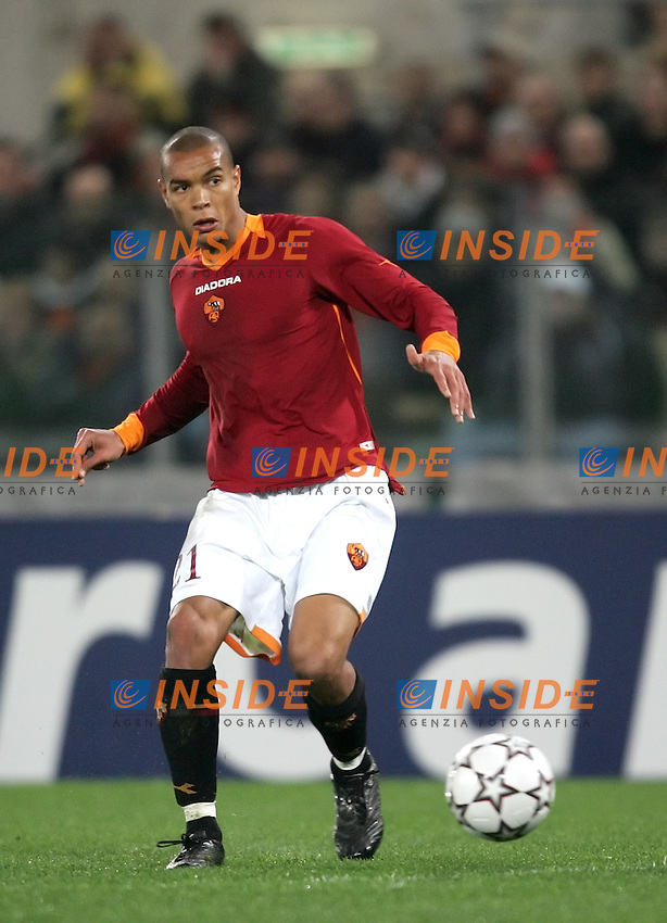 Matteo Ferrari (Roma)<br /> Champions League 2006-2007<br /> 21 Feb 2007 (First knockout round)<br /> Roma - Olympique Lyonnaise (0-0)<br /> &quot;Olimpico&quot; Stadium - Roma - Italy<br /> Photographer: Andrea Staccioli Inside Roma Olympique Lyon