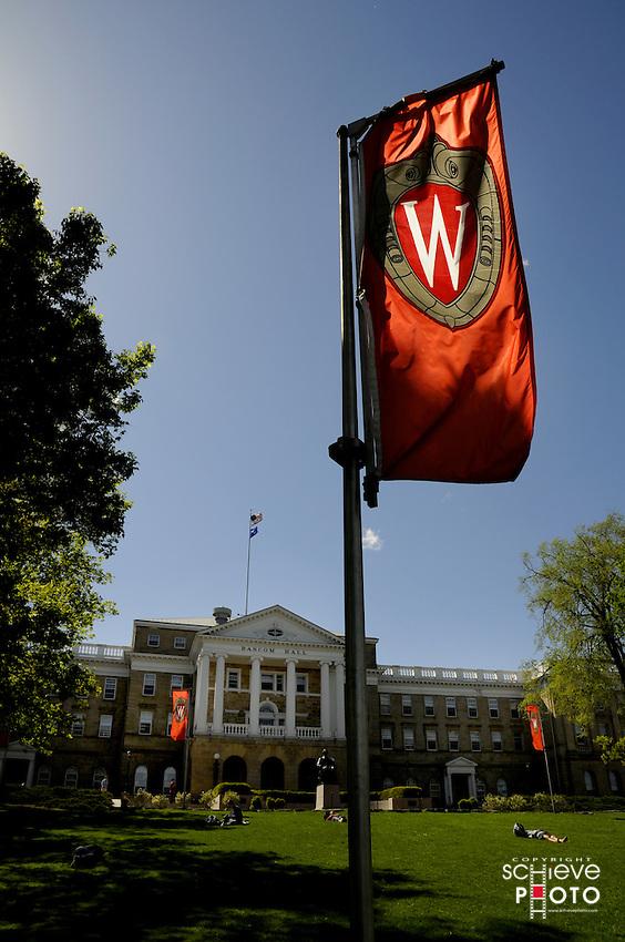University of Wisconsin-Madison Bascom Hill in Madison, Wisconsin.