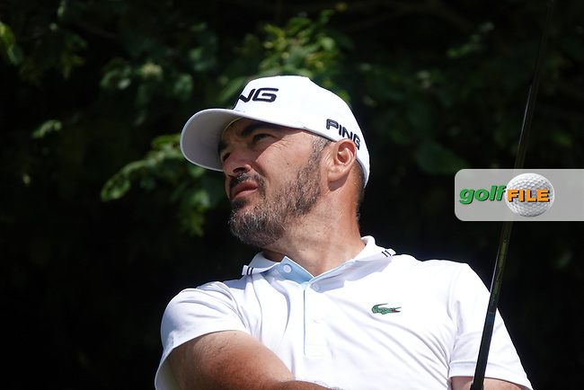 Gregory Havret (FRA) in action during the third round of the Hauts de France-Pas de Calais Golf Open, Aa Saint-Omer GC, Saint- Omer, France. 15/06/2019<br /> Picture: Golffile   Phil Inglis<br /> <br /> <br /> All photo usage must carry mandatory copyright credit (© Golffile   Phil Inglis)