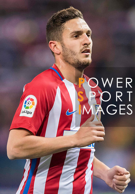 "Jorge Resurreccion Merodio ""Koke"" of Atletico de Madrid in action during their Copa del Rey 2016-17 Quarter-final match between Atletico de Madrid and SD Eibar at the Vicente Calderón Stadium on 19 January 2017 in Madrid, Spain. Photo by Diego Gonzalez Souto / Power Sport Images"