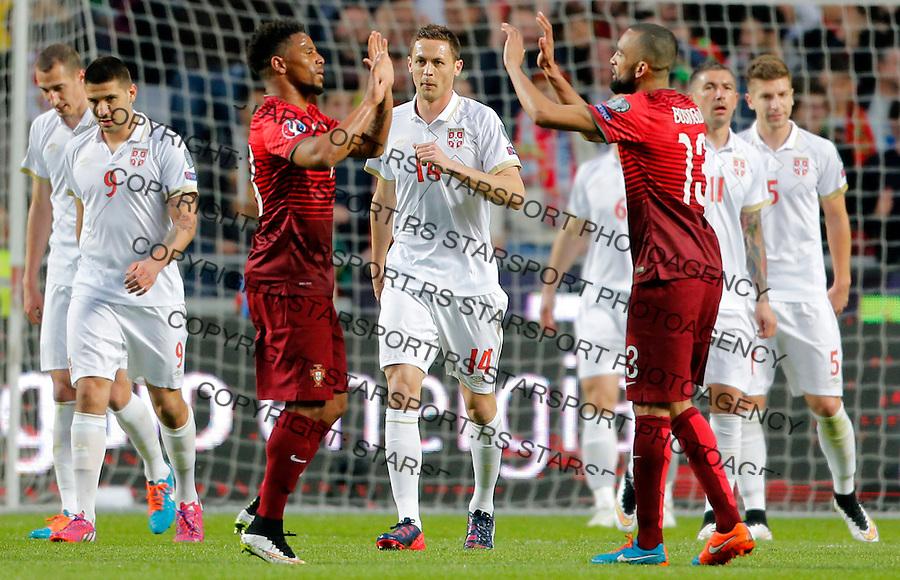 Nemanja Matic Uefa EURO 2016 qualifying football match between Portugal and Serbia in Lisboa, Portugal on March 29. 2015.  (credit image & photo: Pedja Milosavljevic / STARSPORT)