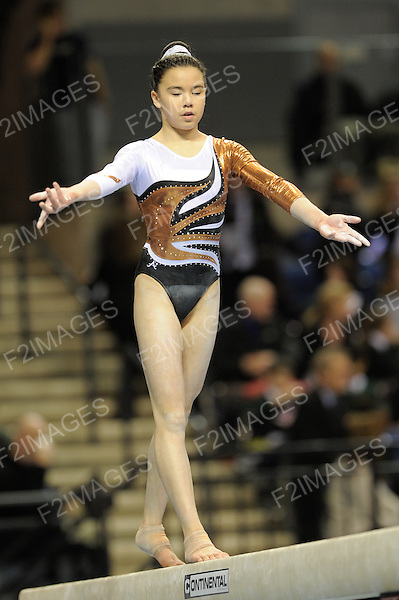 British Gymnastics Championships Liverpool Echo Arena 22.3.13 Junior British Championships .Imogen Chan
