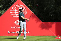Joost Luiten (NED) on the 9th tee during round 1 at the WGC HSBC Champions, Sheshan Golf Club, Shanghai, China. 31/10/2019.<br /> Picture Fran Caffrey / Golffile.ie<br /> <br /> All photo usage must carry mandatory copyright credit (© Golffile | Fran Caffrey)