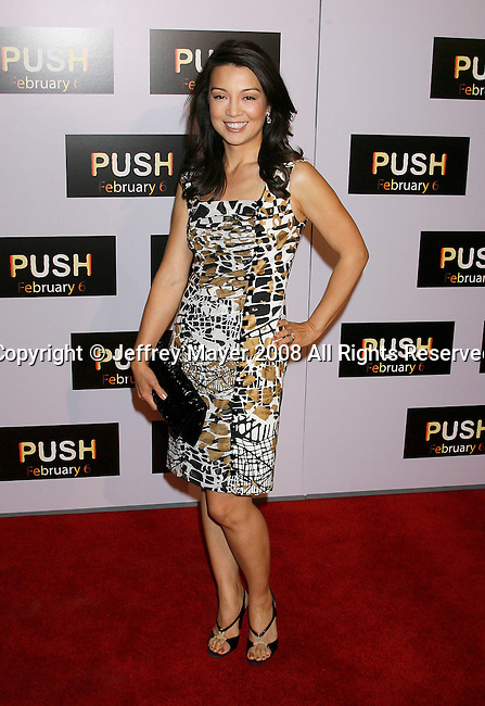 "WESTWOOD, CA. - January 29: Actress Ming Na  arrives at the Los Angeles Premiere of ""Push"" at the Mann Village Theater on January 29, 2009 in Westwood, California."