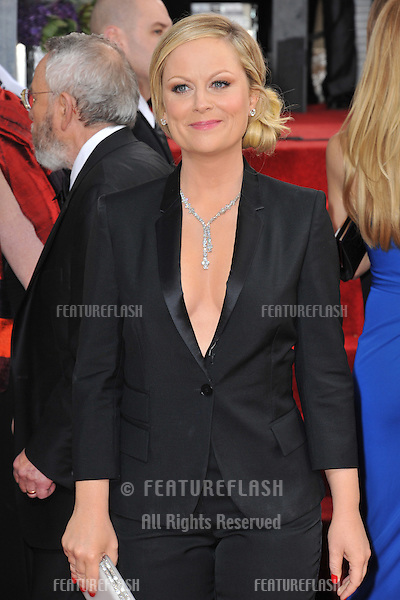 Amy Pohler at the 70th Golden Globe Awards at the Beverly Hilton Hotel..January 13, 2013  Beverly Hills, CA.Picture: Paul Smith / Featureflash