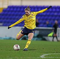 13th February 2020; Deva Stadium, Chester, Cheshire, England; Womens Super League Football, Liverpool Womens versus Arsenal Womens;  Vivianne Miedema of Arsenal Women shoots for goal