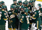 - The University of Vermont Catamounts defeated the Boston College Eagles 5-1 on Saturday, November 7, 2009, at Conte Forum in Chestnut Hill, Massachusetts.