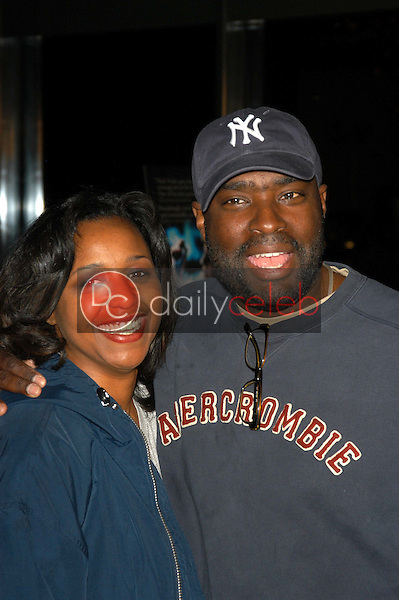 Antwone Fisher and wife