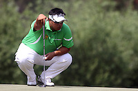 Kiradech Aphibarnrat (THA) on the 5th during Round 4 of the 2013 Avantha Masters, Jaypee Greens Golf Club, Greater Noida, Delhi, 17/3/13..(Photo Jenny Matthews/www.golffile.ie)