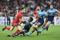 Toby Arnold of Lyon during the Top 14 semi final match between Montpellier Herault Rugby and Lyon on May 25, 2018 in Lyon, France. (Photo by Alexandre Dimou/Icon Sport)