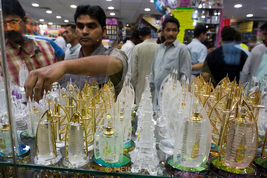Deira. Burj Al Arab souvenirs.