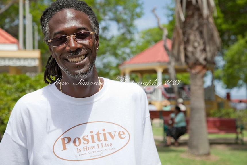 Senator Positive Nelson<br /> Memorial Day Parade<br /> Fredericksted, St Croix<br /> U.S. Virgin Islands