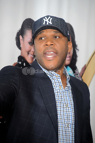 Tyler Perry at the special screening of 'Why Did I Get Married Too?' at the School of Visual Arts Theater in New York City. March 22, 2010.. Credit: Dennis Van Tine/MediaPunch