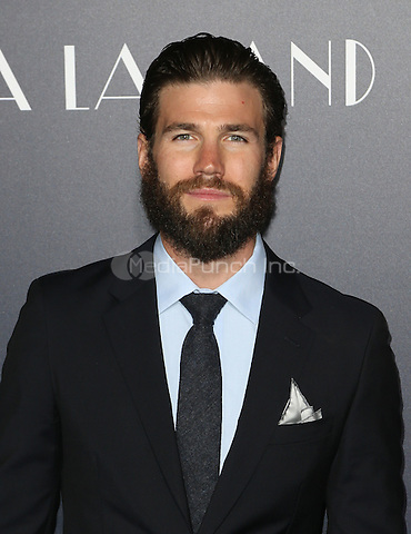 "Westwood, CA - DECEMBER 06: Austin Stowell At Premiere Of Lionsgate's ""La La Land"" At Mann Village Theatre, California on December 06, 2016. Credit: Faye Sadou/MediaPunch"