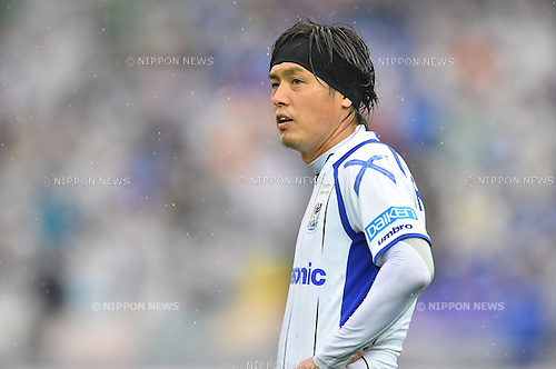 Yasuhito Endo (Gamba),<br /> FEBRUARY 20, 2016 - Football / Soccer :<br /> FUJI XEROX Super Cup 2016 match between Sanfrecce Hiroshima 3-1 Gamba Osaka at Nissan Stadium in Kanagawa, Japan. (Photo by AFLO)