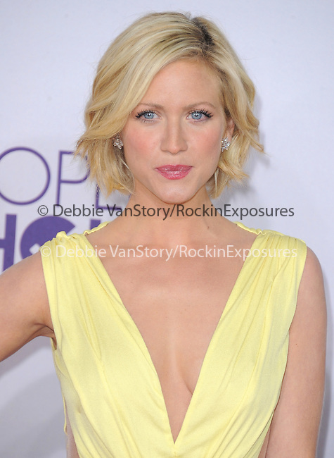 Brittany Snow at The 2013 People's Choice Awards held at Nokia Live in Los Angeles, California on January 29,2009                                                                   Copyright 2013 Hollywood Press Agency