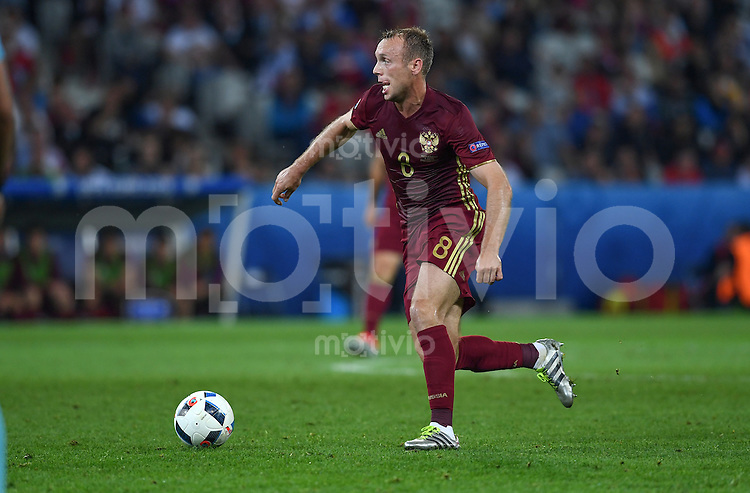 FUSSBALL EURO 2016 GRUPPE B IN LILLE Russland - Slowakei     15.06.2016 Denis Glushakov (Russland)