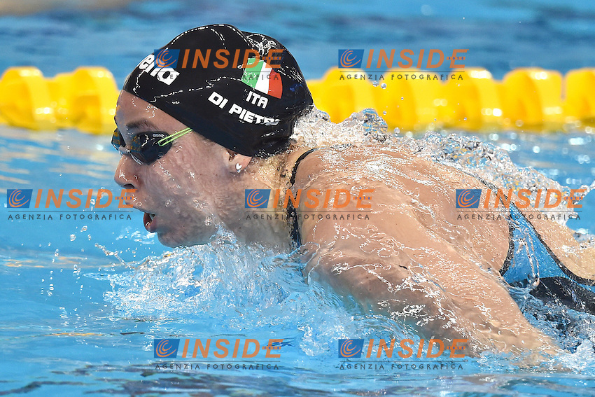 DI PIETRO Silvia ITA Women's 50m Butterfly <br /> Doha Qatar 04-12-2014 Hamad Aquatic Centre, 12th FINA World Swimming Championships (25m). Nuoto Campionati mondiali di nuoto in vasca corta.<br /> Photo Andrea Staccioli/Deepbluemedia/Insidefoto