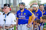 Lixnaw in action against  Kilmoyley in the County Senior Hurling Final at Austin Stack Park Tralee on Sunday.Lixnaw and Kilmoyley parade before he County Senior Hurling Final at Austin Stack Park Tralee on Sunday led by their captains Maurice Corridan Lixnaw and Seanie Murnane Kilmoyley.