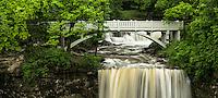 Minneopa Falls along Minneopa Creek in Minneopa State Park near Mankato, MN.