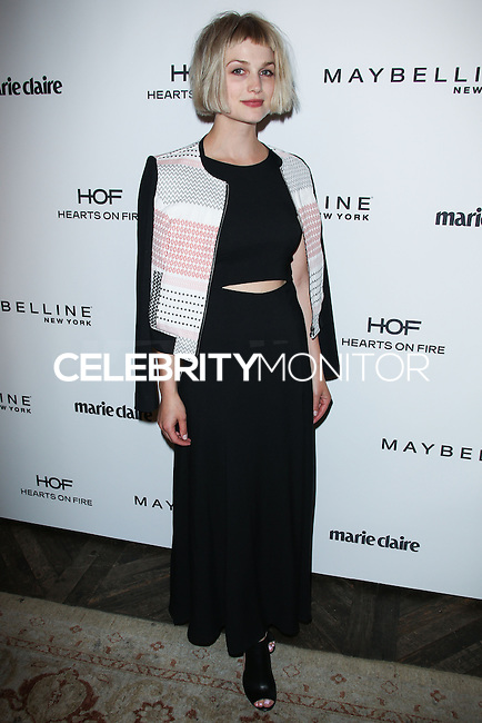 WEST HOLLYWOOD, CA, USA - APRIL 08: Alison Sudol, A Fine Frenzy at the Marie Claire Fresh Faces Party Celebrating May Cover Stars held at Soho House on April 8, 2014 in West Hollywood, California, United States. (Photo by Celebrity Monitor)