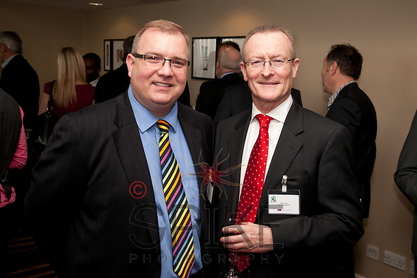 Christian Mulcahy of the DSL Group (left) with Mark Dyer of GET Management