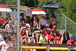 02 June 2017:   Goreville Blackcats v Heyworth Hornets class 1A IHSA Class 1A Softball Semi-Final at Eastside Centre in East Peoria Illinois