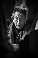 An older monk at Domkar..Brian Hirschy Photograph :  Lights//Camera//Joy.www.brianhirschy.com ( http://www.brianhirschy.com )