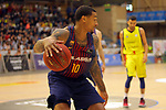 XXXVIII Lliga Nacional Catalana ACB 2017.<br /> FC Barcelona Lassa vs BC Morabanc Andorra: 89-70.<br /> Edwin Jackson.