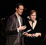 David Sisco (Founder/Creator) & Lorene Phillips (Contributing Editor) performing in 'The Concert - A Celebration of Contemporary Musical Theatre' at The Second StageTheatre in New York City on 1/21/2013