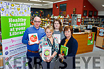 Barthy Flynn, Caroline Larkin and Mary Quirke from Listowel Library, with Lizzy Lyons from 'Lizzy's Little Kitchen' in Listowel, who will be hosting a healthy cooking demonstration to tie in with Healthy Ireland in Listowel Library, on on February 15.