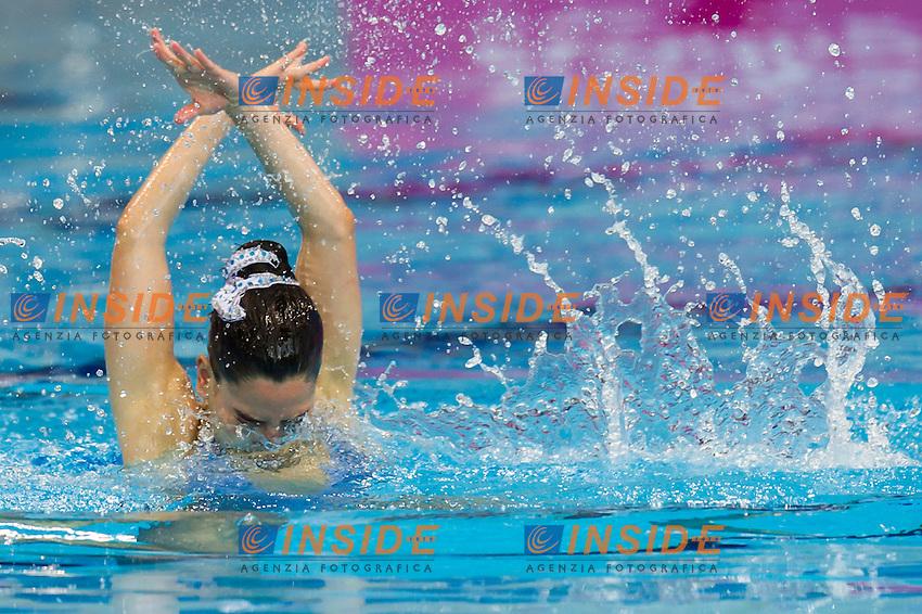 BAPTISTA Ana Isabela POR<br /> London, Queen Elizabeth II Olympic Park Pool <br /> LEN 2016 European Aquatics Elite Championships <br /> Synchro<br /> Solo Technical final <br /> Day 04 12-05-2016<br /> Photo Giorgio Perottino/Deepbluemedia/Insidefoto