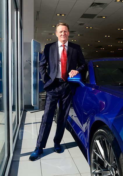 Country Chevrolet owner Andy Budd - photographed at Country Chevrolet Warrenton, VA
