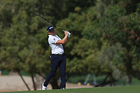 Matt Wallace (ENG) on the 3rd during Round 3 of the Omega Dubai Desert Classic, Emirates Golf Club, Dubai,  United Arab Emirates. 26/01/2019<br /> Picture: Golffile | Thos Caffrey<br /> <br /> <br /> All photo usage must carry mandatory copyright credit (© Golffile | Thos Caffrey)
