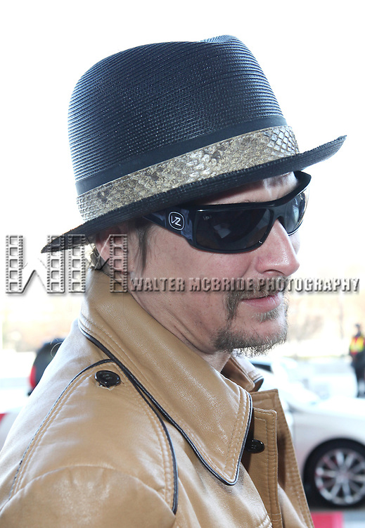 Kid Rock attending the Rehearsals for the 35th Kennedy Center Honors at Kennedy Center in Washington, D.C. on December 2, 2012