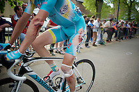 Lieuwe Westra (NLD/Astana) came in pretty f**ked up<br /> <br /> La Flèche Wallonne 2014