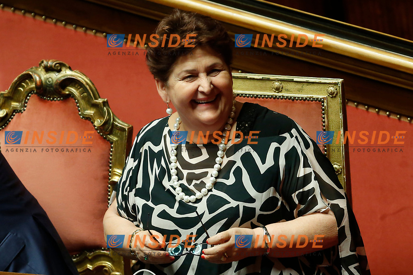 Teresa Bellanova<br /> Rome September 10th 2019. Senate. Discussion and Trust vote at the new Government. <br /> Foto  Samantha Zucchi Insidefoto