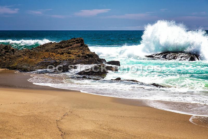 Coast Of Laguna Beach California