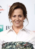 L'attrice statunitense Sigourney Weaver posa durante un photocall al Festival Internazionale del Film di Roma, 24 ottobre 2018.<br /> US actress Sigourney Weaver poses for a photocall during the international Rome Film Festival at Rome's Auditorium, on October 24, 2018.<br /> UPDATE IMAGES PRESS/Isabella Bonotto