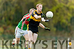 Colm Cooper Dr Crokes in Action against Noel McGrath Loughmore-Castleiney in the Munster Senior Club Semi-Final at Crokes Ground, Lewis Road on Sunday