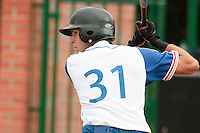 18 August 2010: Jonathan Dechelle of Team France is seen at bat during the France 7-3 win over Ukraine, at the 2010 European Championship, under 21, in Brno, Czech Republic.