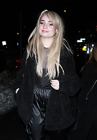 NEW YORK, NY - JANUARY 11: Kim Petras arriving at the IFC Films premiere of Freak Show at the Landmark Sunshine Cinema in New York City on January 10, 2018. Credit: RW/MediaPunch