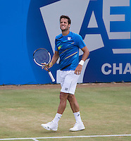 FELICIANO LOPEZ (ESP)<br /> <br /> Aegon Championships 2014 - Queens Club -  London - UK -  ATP - ITF - 2014  - Great Britain -  14th June 2014. <br /> <br /> &copy; AMN IMAGES