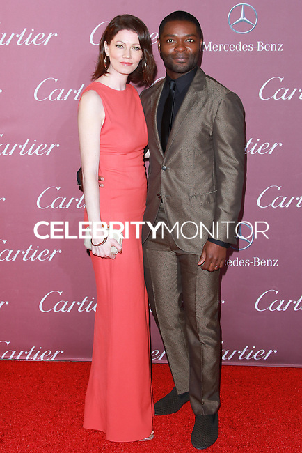 PALM SPRINGS, CA, USA - JANUARY 03: Jessica Oyelowo, David Oyelowo arrive at the 26th Annual Palm Springs International Film Festival Awards Gala Presented By Cartier held at the Palm Springs Convention Center on January 3, 2015 in Palm Springs, California, United States. (Photo by David Acosta/Celebrity Monitor)