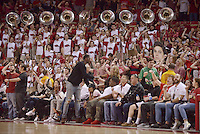 NWA Democrat-Gazette/BEN GOFF @NWABENGOFF<br /> Arkansas vs Ole Miss basketball Saturday, Feb. 18, 2017, at Bud Walton Arena in Fayetteville.