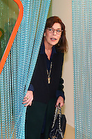 Princess Caroline of Hanover visits new art exhibition - Monaco
