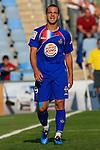 Getafe's Roberto Soldado reacts during La Liga match. September 12, 2009. (ALTERPHOTOS)