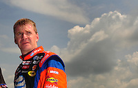 Apr 26, 2008; Talladega, AL, USA; NASCAR Sprint Cup Series driver Jeff Burton during qualifying for the Aarons 499 at Talladega Superspeedway. Mandatory Credit: Mark J. Rebilas-
