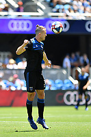 SAN JOSE, CA - JUNE 8: Francois Affolter #3 during a game between FC Dallas and San Jose Earthquakes at Avaya Stadium on June 8, 2019 in San Jose, California.
